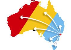 We service all of Australia