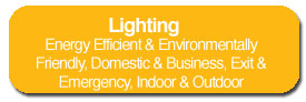 Energy Efficient & Environmentally Friendly, Domestic & Business, Exit & Emergency, Indoor & Outdoor